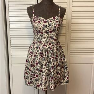 Hell Bunny Poison Love Dress Size Large